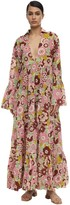 Dodo Bar Or Anny Floral Printed Cotton Maxi Dress