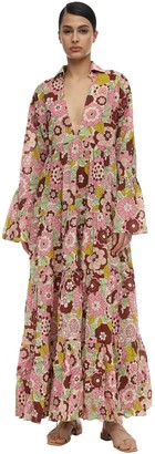 Dodo Bar Or ANNY FLORAL PRINTED COTTON MAXI DRESS