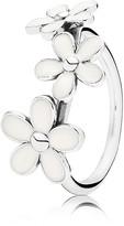 Pandora Ring - Sterling Silver & Enamel Darling Daisies