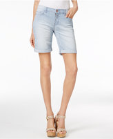 Lee Platinum Petite Railroad Stripe Bermuda Shorts