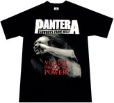 Bravado Rockabilia Pantera Vulgar Display Of Power T-Shirt (Medium)