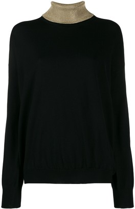 Paco Rabanne Two Tone Jumper