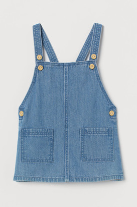 H&M Denim dungaree dress