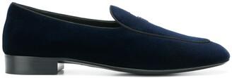 Giuseppe Zanotti Logo Loafers