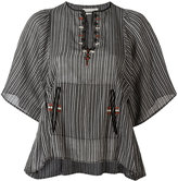 Etoile Isabel Marant Joy top - women - Cotton/Polyester - 38