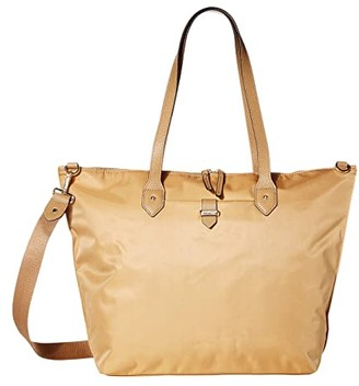 Lipault Paris Plume Avenue Travel Tote Bag (Camel) Bags