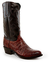 Lucchese Since 1883 Belly Crocodile Western Boots