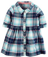 Carter's Baby Girl Plaid Shirtdress