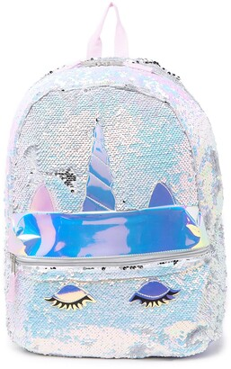 A D Sutton & Sons Sequined Unicorn Backpack