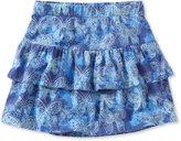 L.L. Bean Girls' Freeport Knit Skort, Print