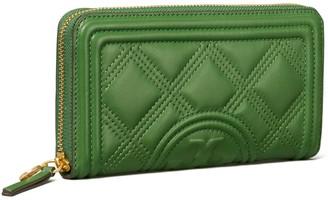 Tory Burch Fleming Soft Zip Continental Wallet