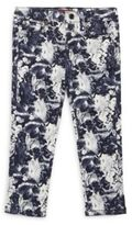 7 For All Mankind Little Girl's Floral-Print Pants