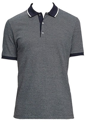 Theory Contrast Comfort-Fit Polo Shirt