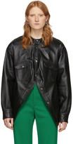 Balenciaga Black Swing Canadian Jacket