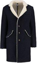 Soulland Bart Classic Coat Navy