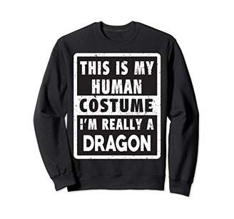 Dragon Optical Helloween Costume Funny Costume Sweatshirt