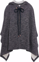 See by Chloe Hooded jersey cape