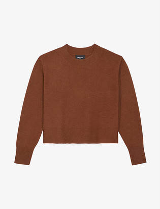 The Kooples Relaxed-fit cashmere jumper