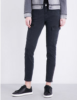J Brand Houlihan Military skinny mid-rise jeans