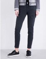 J Brand Houlihan Military skinny mid-rise jeans