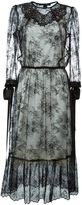 Marc Jacobs embellished lace dress - women - Silk/Nylon - 6