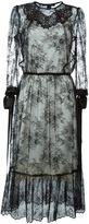 Marc Jacobs embellished lace dress - women - Silk/Nylon - 6