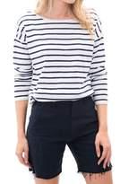 Lilla P 3/4 Sleeve Boatneck Shirt