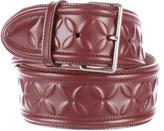 Alaia Textured Leather Belt