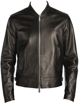 DSQUARED2 Zippered Moto Jacket