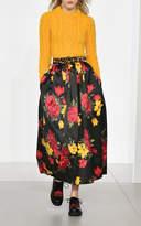 Michael Kors Floral Ballerina Maxi Skirt