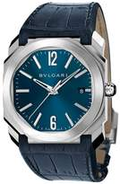 Bvlgari Stainless Steel Octo Solotempo Watch (38mm)