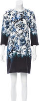 Erdem Printed Silk Dress w/ Tags