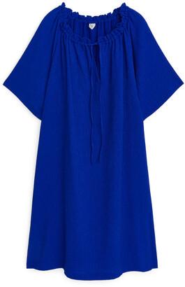 Arket Textured Jersey Dress