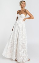 Showpo Its a Vow Gown in white - 4 (XXS) Bridal Gowns