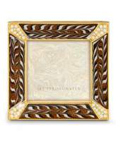 "Jay Strongwater Leland Safari Pave Corner 2"" Square Frame"
