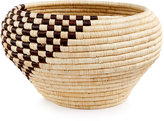 Rwanda Raffia and Sweet Grass Ross Round Bowl