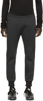 DSQUARED2 Charcoal Neoprene Lounge Pants