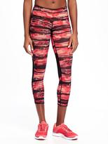 Old Navy Go-Dry Compression Crops for Women