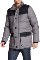 Victorinox Lausanne Colorblock Quilted Jacket