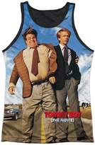 Tommy Hilfiger Tommy Boy Spade & Farley Road Comedy Movie Adult Black Back Tank Top Shirt