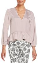 Lucca Couture Everly Peplum Blouse
