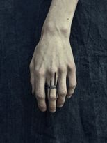 Set Of 3 Oxidized Silver Rings