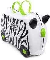 Trunki The Original Ride-On Zimba Suitcase, & White