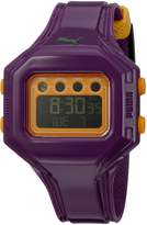 Puma Women's PU910772006 Bounce-S Purple and Dial Digital Watch