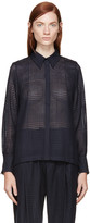 Mother of Pearl Navy Meredith Blouse