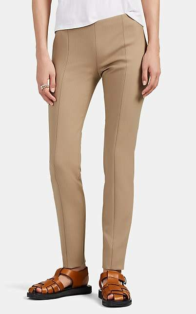 The Row Women's Kosso Wool Cigarette Pants - Neutral