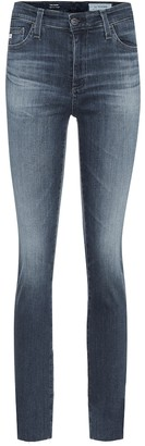 AG Jeans The Mari high-rise slim jeans