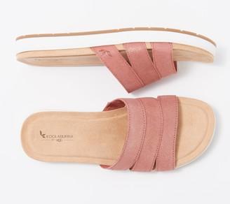Koolaburra by UGG Metallic Slide Sandals - Maerin