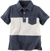 Carter's Colorblock Jersey Polo