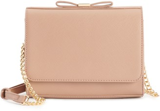 Miztique Saffiano Crossbody Bag